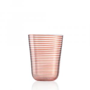 Bicchiere Bibita Twist Rosso