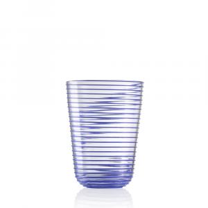 Bicchiere Bibita Twist Blu