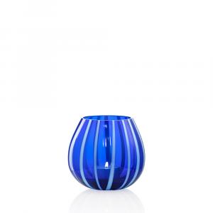 Portacandela String Celeste Blu