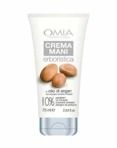 OMIA Crema mani all'olio biologico di ARGAN 75ml