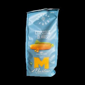 Cous Cous di Mais al naturale - GLUTEN FREE - 100% farina italiana di mais - 300 gr