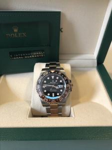 Orologio mai indossato Rolex Gmt Master 2