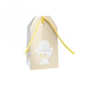 Shoppy con foro Prima Comunione porta confetti