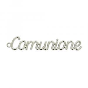 Scritta Comunione applicazione