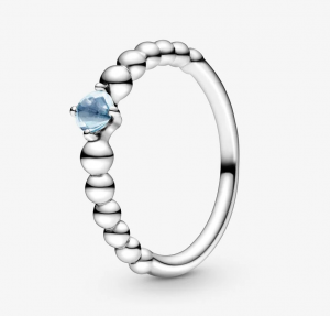 Anello Blu acqua