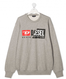 Felpa Diesel Grigia