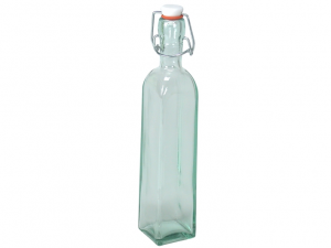 Bottiglia in vetro quadrata 300cc