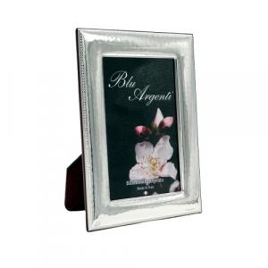 Geo's cornice portafoto bilaminato argento 10x15 martellata
