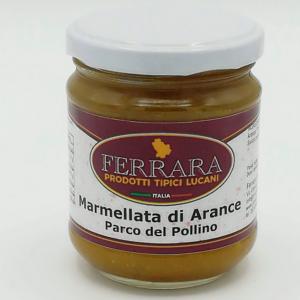 MARMELLATA DI ARANCE PARCO DEL POLLINO 180 GR