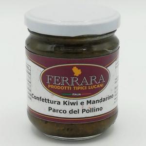 CONFETTURA DI KIWI E MANDARINO PARCO DEL POLLINO 180 GR