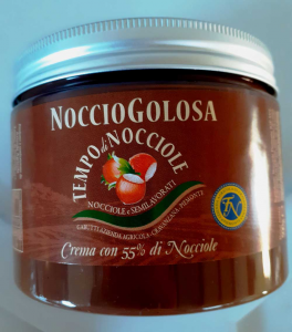 NOCCIOGOLOSA (CREMA SPALMABILE CON 55 % DI NOCCIOLA) 500 gr