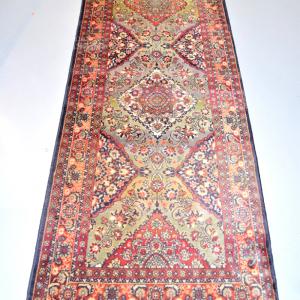 Carpet Lane In Wool 0.85 Cmx3 M 40 Green Red Blue Cm