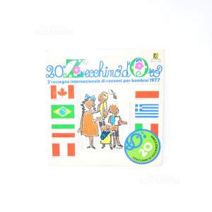Vinile 33 Giri 20° Zecchino D'oro 3a Rassegna Internazionale Di Canzoni Per Bambini