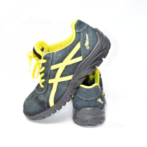 Shoes Accident Prevention Man U Power Black And Yellow N° 42