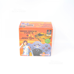 Videogioco Ridge Racer Type 4 + Jogcon - Namco - Pal - Brand MAI USATO