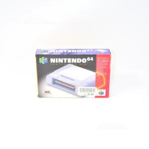 Nintendo 64 Controller Pak Memorycard Original Brand New