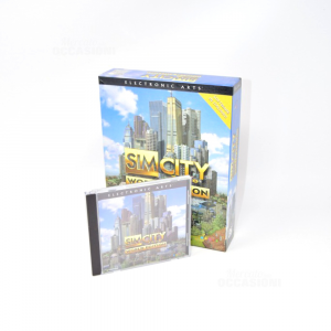 Videogioco Sim City 3000 World Edition Gioco Usato Pc Cdrom Ed Italiana Big Box