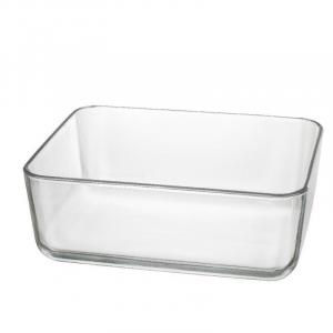 Contenitore in Vetro Trasparente Per Buffet Organize 26x21 cm