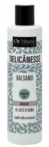 BALSAMO AL LATTE D'ASINA BIO 250 ML LINEA DELICANESSE DI OR BLANC