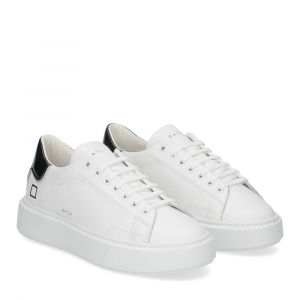 D.A.T.E. Sfera calf white black