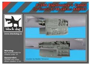 F-104 Electronics + Canon