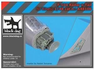 F-104 Radar + Tail