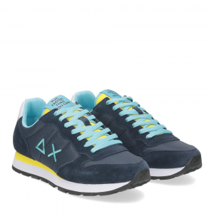 Sun68 Tom Solid nylon Z31101 navy blue giallo