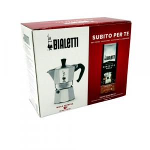 Bialetti offerta caffè e caffettiera 3 tazze