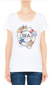 LIU JO WA1174J004 T-shirt moda mezza manica