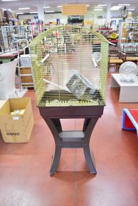 Gabbia Per Uccelli Con Piedistallo Alta 150 Cm