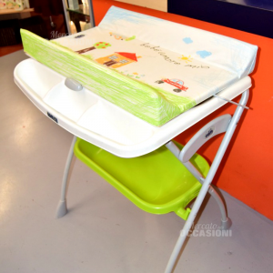 Changing Table Cam Green Folding