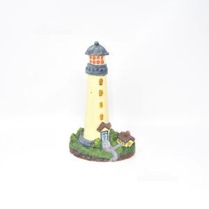 Doorholder In Cast Iron Lighthouse 21 Cm Height