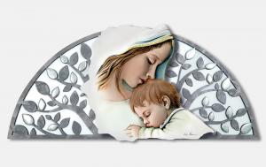 Capoletto traforato Estego Maternità con decorazione in argento Made in Italy