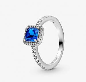 Anello Eterna eleganza blu