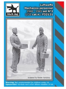 Luftwaffe Mechanic Personnel
