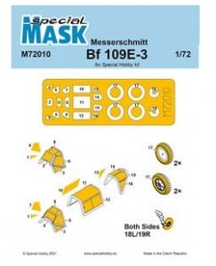 Messerschmitt Me-109E-1/3 Mask