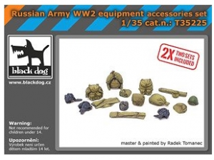 Russian Army WW2 Equipment Accessories Set