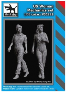 US Woman Mechanic Set