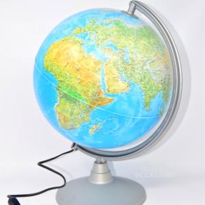 Globe Shiny With Base Grey