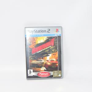 Video Game Play Station 2 Burnout Revenge Platinum