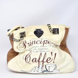 Bag Pandorine Brown Beige Ecopelle: Not All - Princesses...
