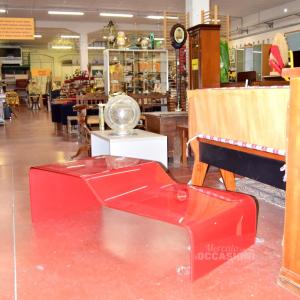 Tavolino In Vetro Rosso Guzzini