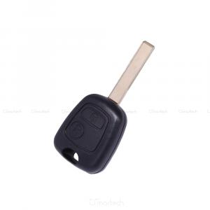 Scocca Guscio Chiave Con Lama Peugeot 307 Dal 2000 Al 2017 Telecomando 2 Tasti