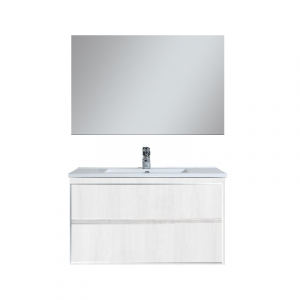 MOBILE BAGNO SERIE SIRY  (DA COMPORRE)                                 Specchio cm 90x90