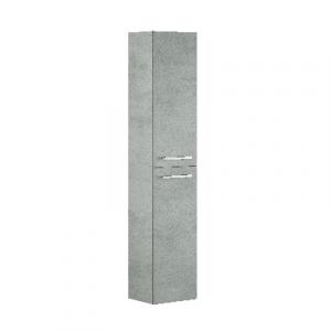 COLONNA BAGNO SOSPESA ATHENA 2 APERTURE                                cm 150 x 30 x 25 - Cemento