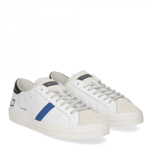 D.A.T.E. Hill low vintage calf white bluette