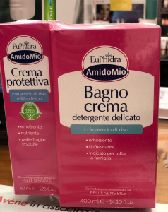 Euphidra amido mio Bagno crema delicato + crema protettiva