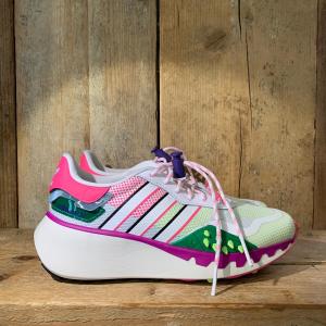 Scarpa Adidas Choigo Woman Bianca Con Dettagli Multicolor