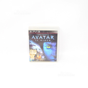 Video Game Play Station 3 Avatar The Game