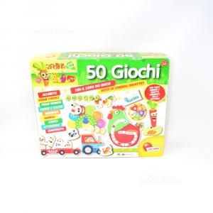 50 Games Cartoina Lisciani